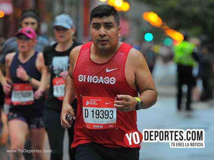 Banivaldo Salazar-Chicago Maraton 201