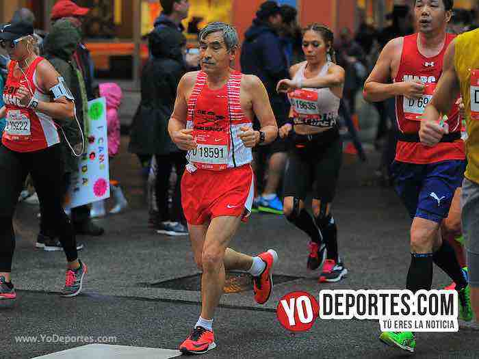 Bernabe Rogel-Chicago Maraton 2018