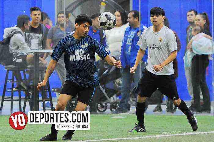 Chicago Flash-Cash in Flow-Liga Latinoamericana-miercoles Indoor Soccer Futbol