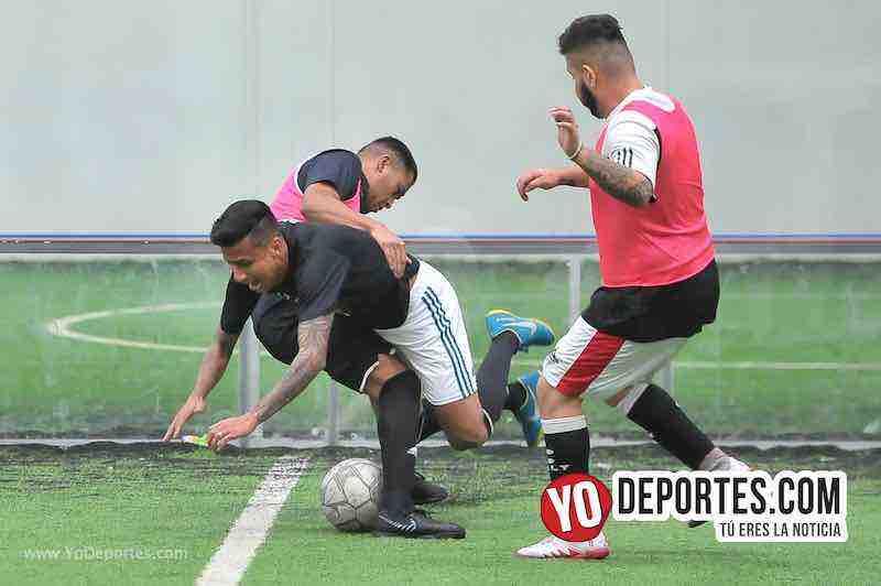 Southside y Deportivo La Palma se dan con todo y acaban empatados