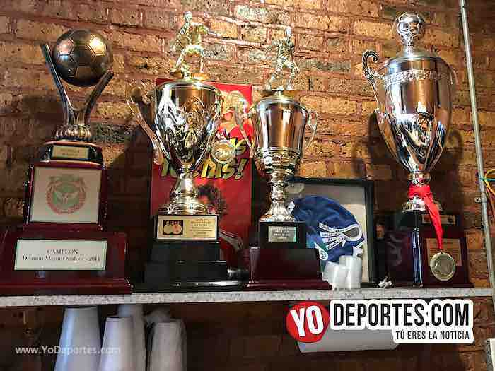 Dona Torta Chilanga-Trofeos Estrella Blanca Copa Liga Douglas