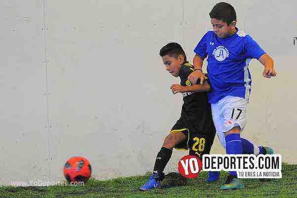 Manchester-B y V-Liga Douglas Infantil Indoor Soccer