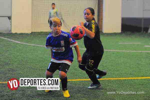 Manchester-B y V-Liga Douglas Infantil de Chicago