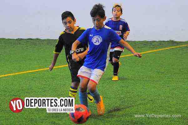 Manchester-B y V-Liga Douglas Infantil