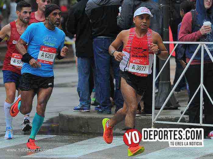 Manuel Bautista-Chicago Maraton 2018