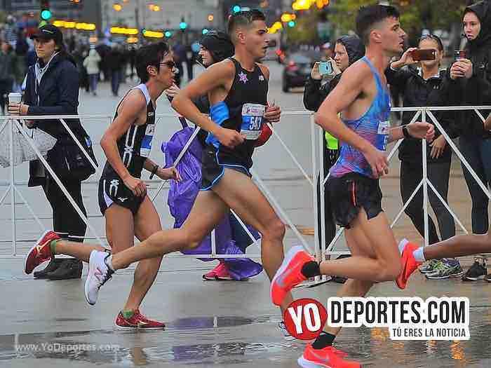 Oscar Medina el mejor latino de Chicago en el Maratón