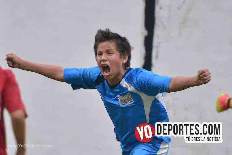 Oscar Salgado regala triunfo a los Halcones en la Champions Kids