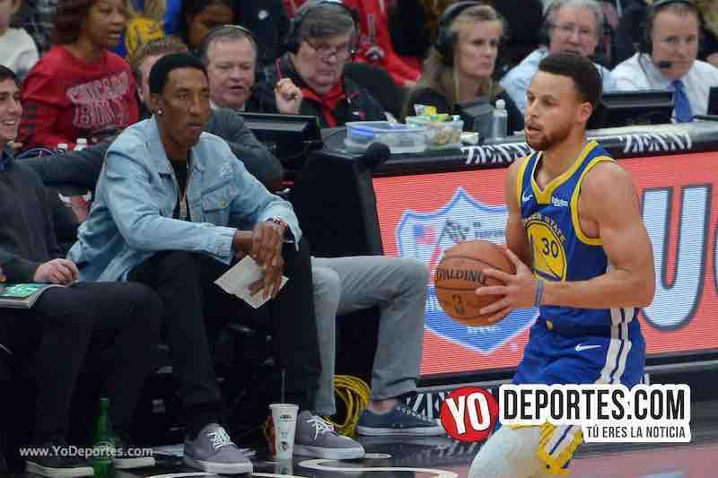 Stephen Curry Scottie Pippen-Chicago Bulls-Golden State Warriors