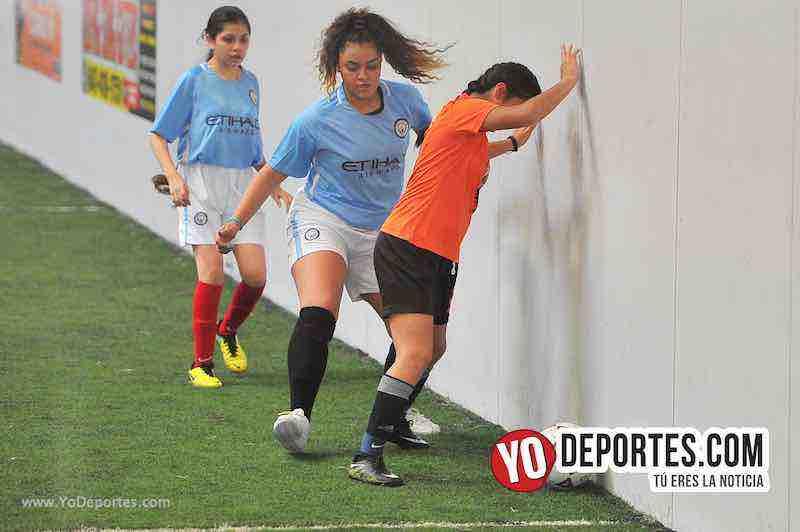 Tigers-Blazers-Chicago Women Premier Futbol Femenil