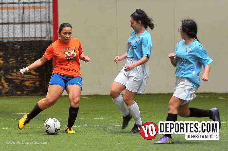 Tigers-Blazers-Chicago Women Premier Soccer League