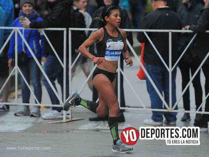 Vianey de la Rosa Mexico-Chicago Maraton 2018