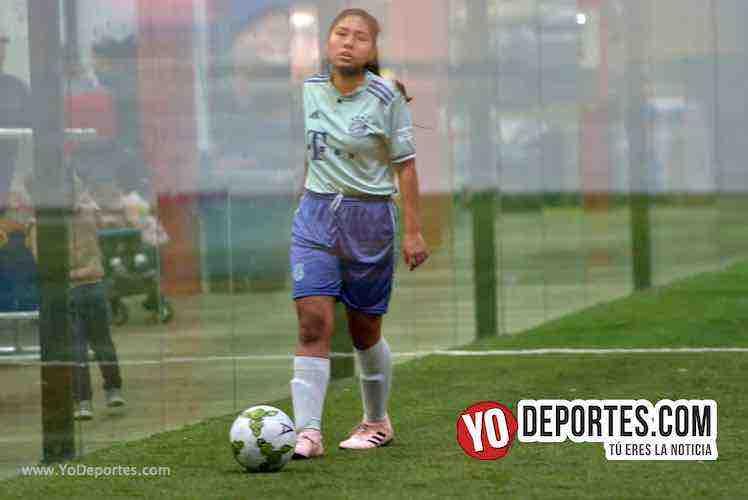Angeles-Deportivo Amistad-AKD Soccer League Futbol Femenil