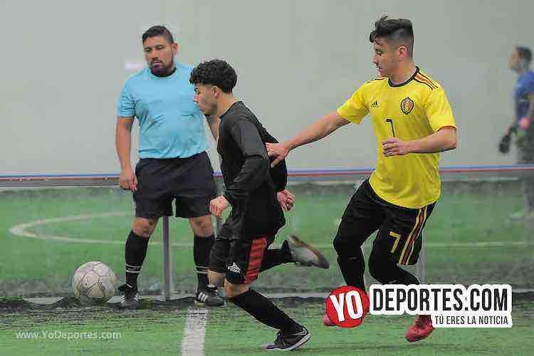 Arbitro Gio Gonzalez-Deportivo La Palma-Chicago Stoners-Liga San Francisco
