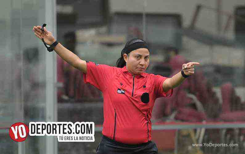 Arbitro Rosalba Luna-La Palma-Kedvale FC-Champions Liga San Francisco