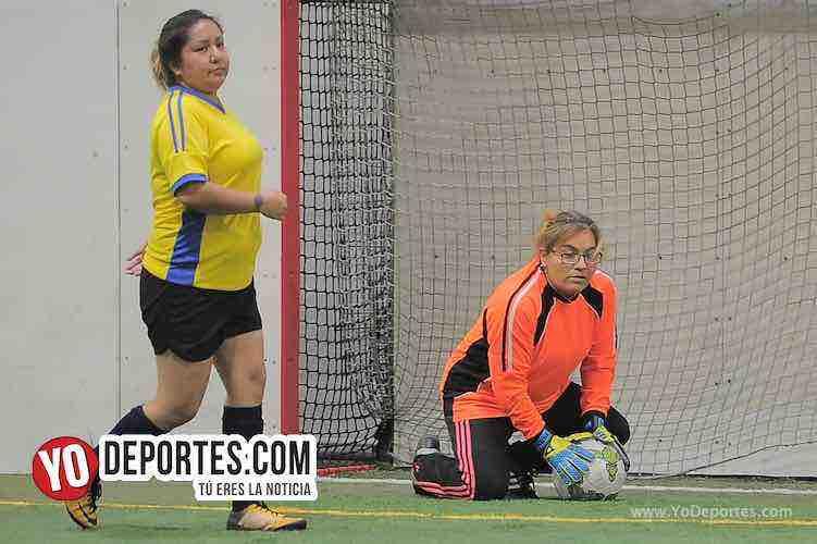 Atletico L-Deportivo Union-AKD Soccer League Mujeres Futbolistas