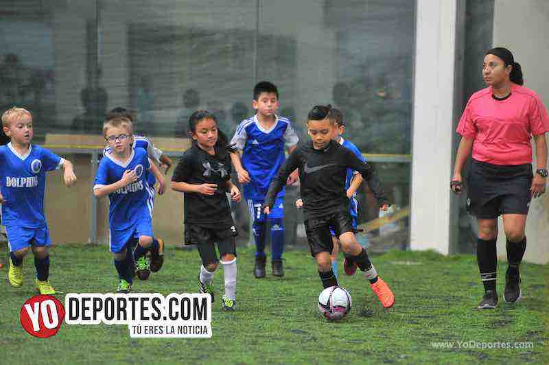 Fotos y videos de los Douglas Kids contra Chicago Dolphins
