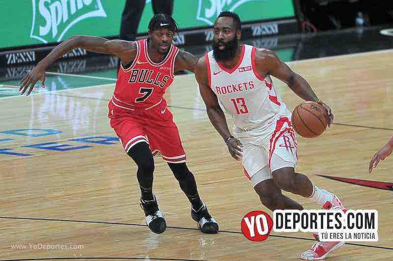 Rockets de Houston hunden a los Bulls con la cuarta derrota de la semana