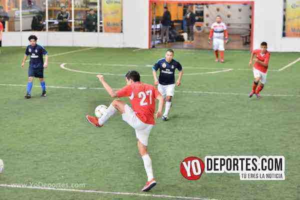 Deportivo León vs. Sharks el domingo en la Liga Interamericana de Chitown Futbol