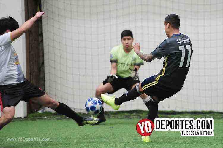 Luis El Negro Sandoval-Kedvale FC-La Palma-Champions Liga San Francisco Soccer League