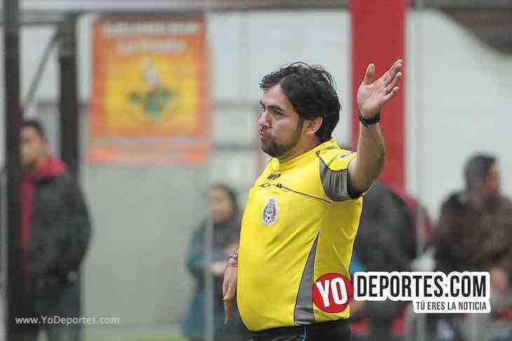 Arbitro Alvaro Cortina-UNAM 1-Marquette FC-Liga 5 de Mayo