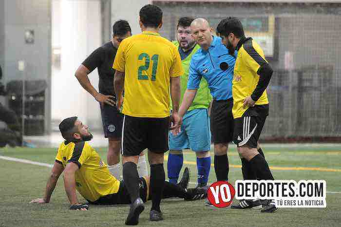 Arbitro Jesse Aguirre-Cuamio-A B Electronics-Liga Latinoamericana