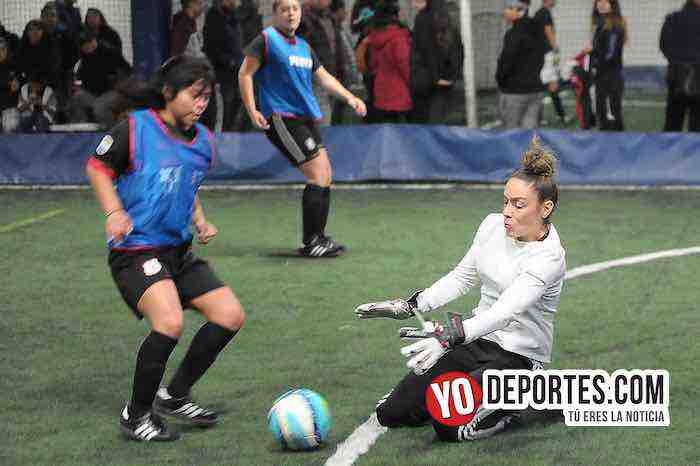 Mujeres de CD Vagos recetan goliza al Chicago FC
