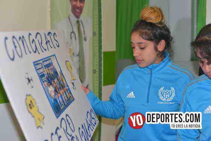 Cicero Jaguars Premier-Fiesta de Campeonas Veracruz Mujeres Futbolistas