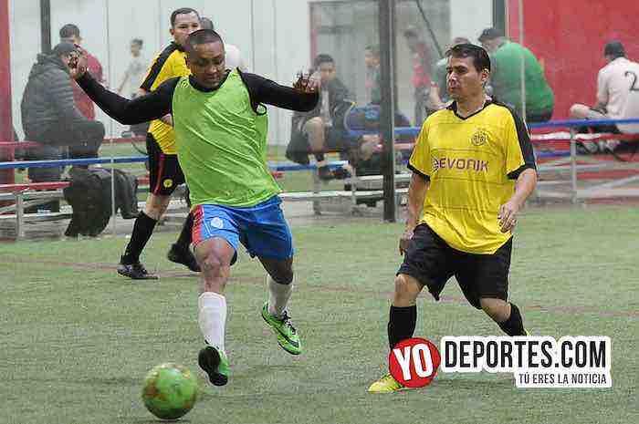 Cuamio-A B Electronics-Liga Latinoamericana de Futbol Indoor Chicago