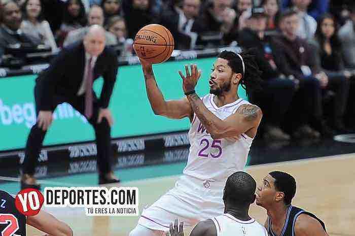 Derrick Rose y Timberwolves aplastan a los Chicago Bulls