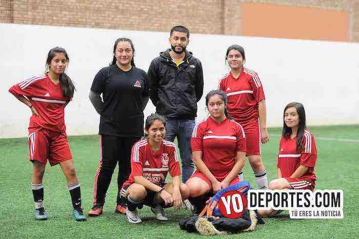 FC Chicago arrolló a la máquina Cruz Azul femenil