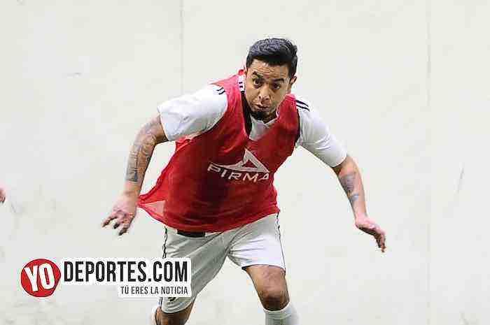 Real Colicos ganan con gol de Felipe Rodríguez
