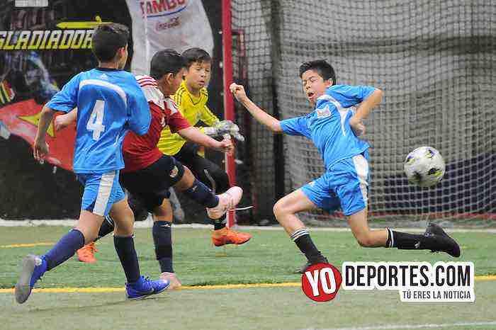 Halcones JC a la final de la Champions Kids en la Liga Latinoamericana