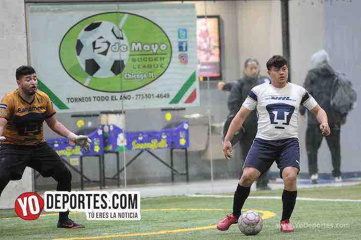 Hayden Diaz-UNAM 1-Marquette FC-Liga 5 de Mayo