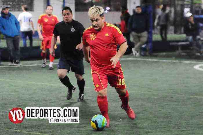 Luna FC-Chivas-Liga Taximaroa de los Viernes Chicago Futsal
