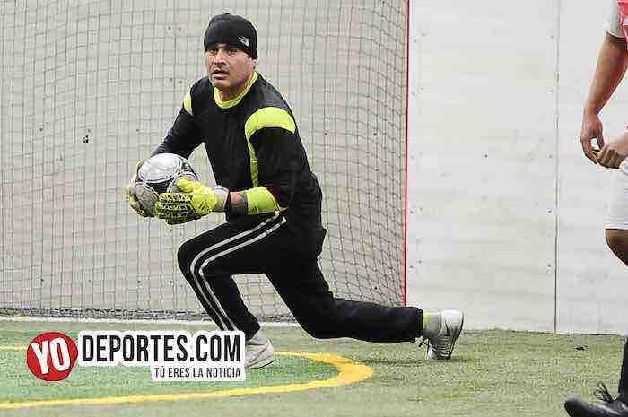 Real Colicos-Red Bulls-Liga 5 de Mayo Indoor Futbol