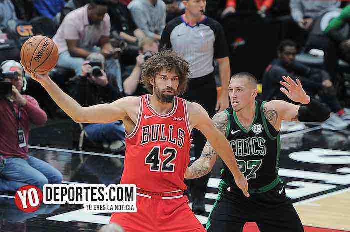 Boston Celtics sepultan a los Bulls en el sótano divisional