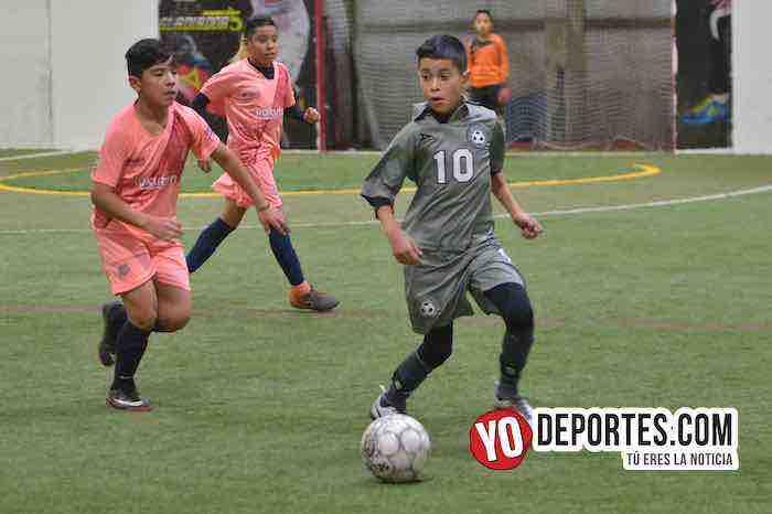 San Antonio-Atletic Magic-Finales Liga Latinoamericana Champions Kids-2008 Indoor Futbol
