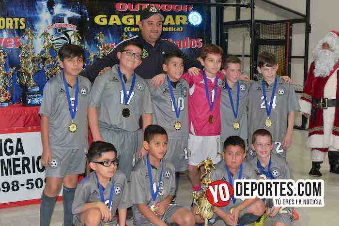 San Antonio Campeon-Finales Liga Latinoamericana Champions Kids-2008