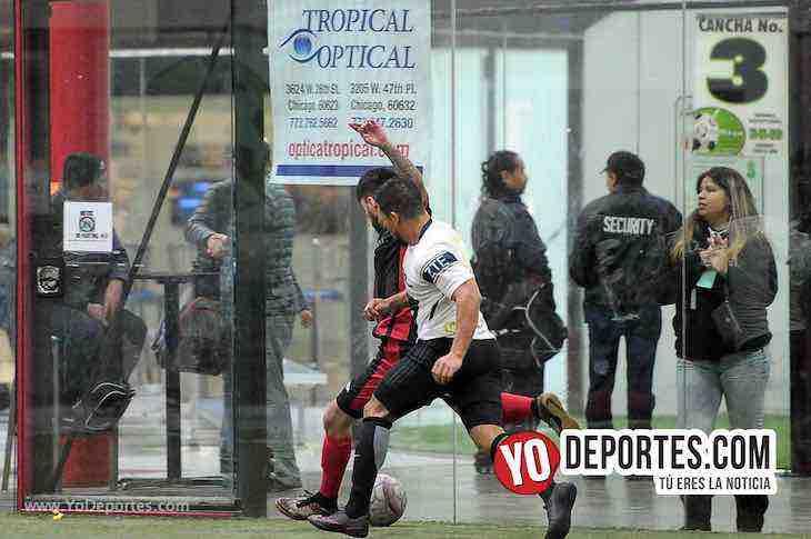 UNAM 1-Marquette FC-Liga 5 de Mayo Indoor soccer