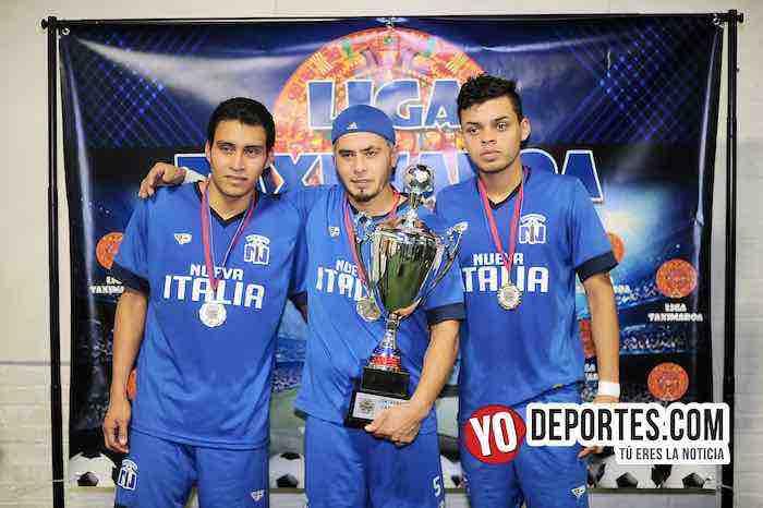 El Tridente de Nueva Italia los hace campeones en la Liga Taximaroa