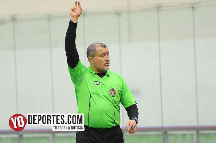 Arbitro Alex Ruiz-Campo Hermoso-Barza-Champions de los Martes-Liga San Francisco