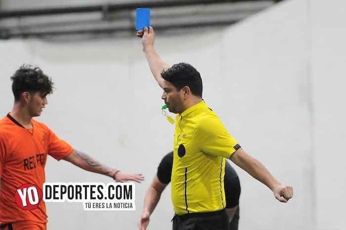 Arbitro Manny Duran-Boca Jr-Red Fire-Champions-Liga Latinoamericana