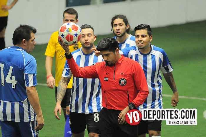 Nada para nadie, Iguala y Boca Jr tienen polémico empate en Chitown Futbol