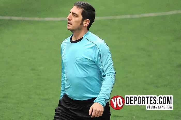 Arbitro Sharks-Morelos-Chitown Futbol-Veteranos