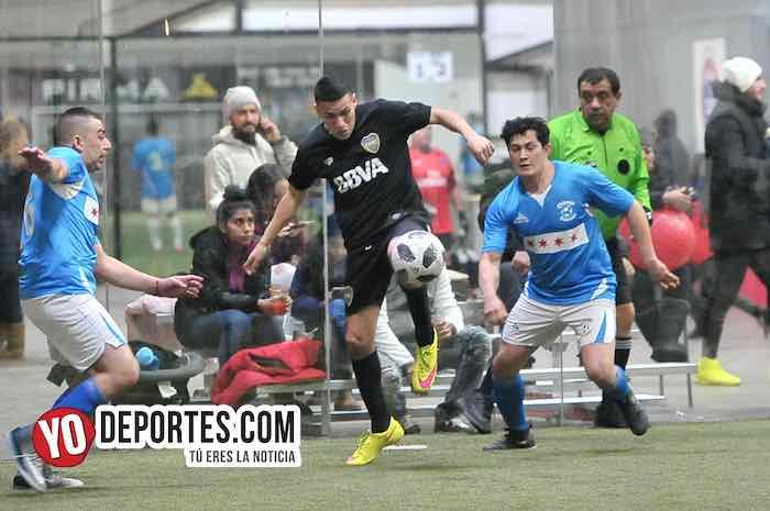 Boca Jr pinta de blanco al Chicago Soccer en la Champions de la Liga Latinoamericana