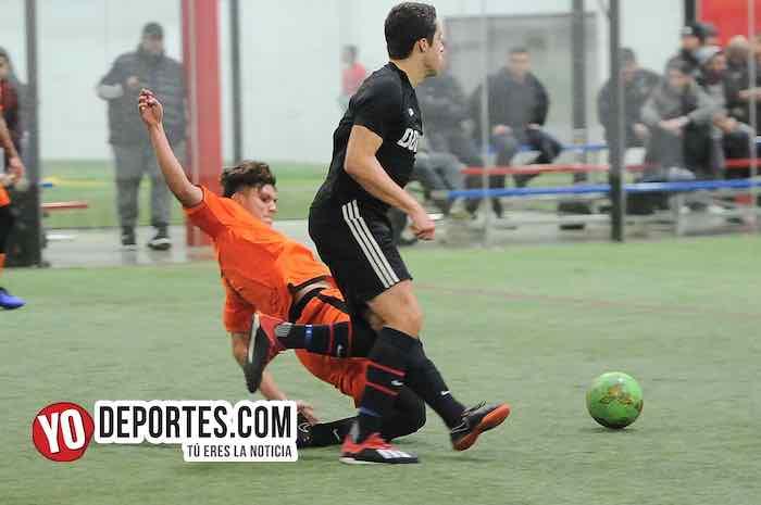 Boca Jr-Red Fire-Champions-Liga Latinoamericana Soccer League Chicago