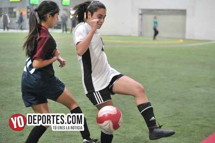 Mujeres en acción: Chicago Elite empata con Mónaco en la Liga 5 de Mayo