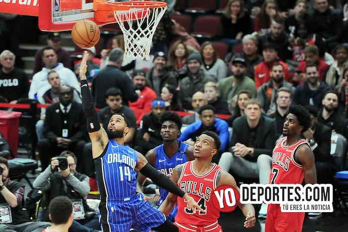 DJ Augustin-Wendell Carter Jr-Chicago Bulls-Orlando Magic United Center