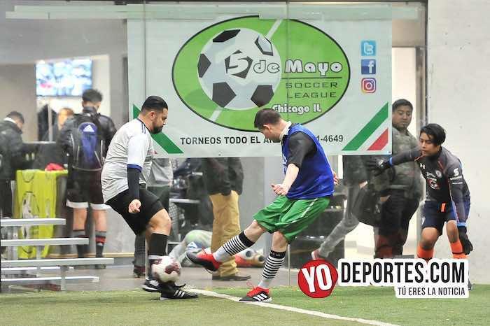 Deportivo 57 rebasa al Chicago FC en la Liga 5 de Mayo