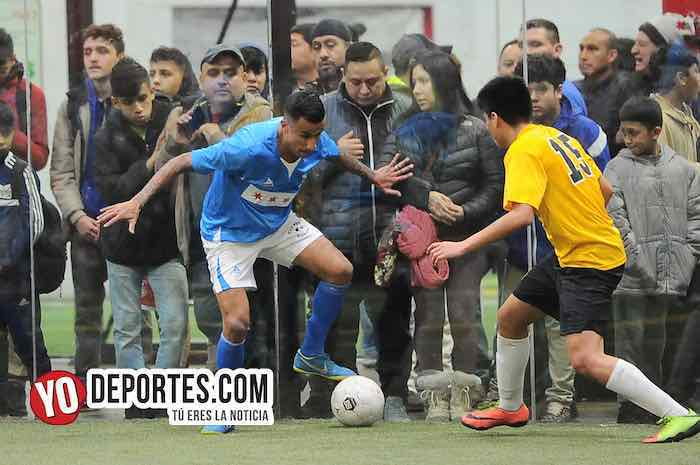 Luis El Negro Sandoval-San Antonio-Chicago Soccer-Champions Liga Latinoamericana
